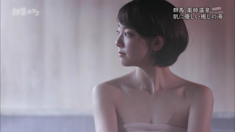【温泉キャプ画像】ポロリチラリが一番期待度高まる温泉レポw 03