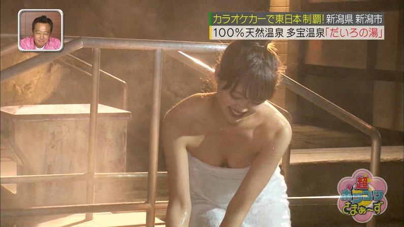 【温泉キャプ画像】ポロリチラリが一番期待度高まる温泉レポw 10