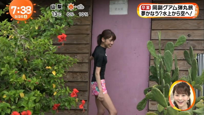 【太ももキャプ画像】綺麗な脚だからこそ露出したくなる美脚タレント達w 12
