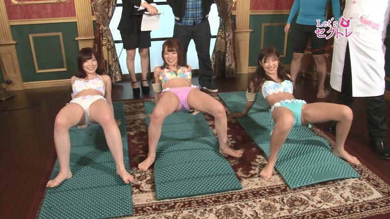 【開脚キャプ画像】テレビでお股クパーし過ぎのタレント達の見えてはいけない物がwww 16