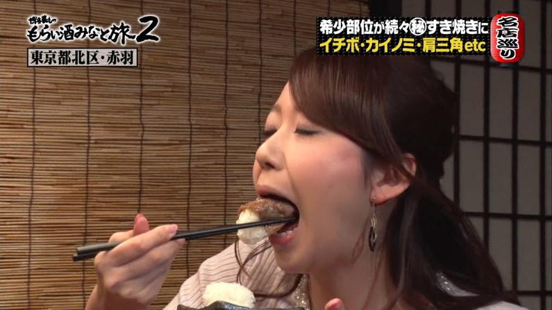 【疑似フェラキャプ画像】タレント達の食レポ―シーンで見せるエロい顔に色んな意味で突っ込みたくなるよなw 19