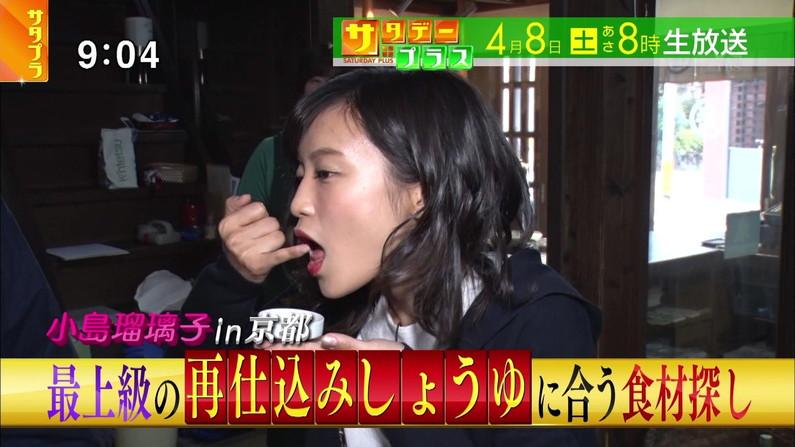 【疑似フェラキャプ画像】食レポの時大きなお口開けてフェラ顔なっちゃうタレント達ww 22