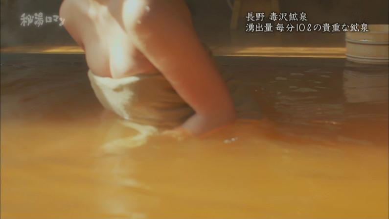 【温泉キャプ画像】タレント達の滅多に見れない入浴シーンってやっぱりエロ目線で見てしまうよなw 08