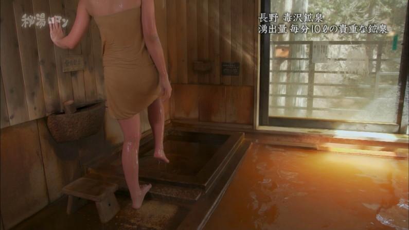 【温泉キャプ画像】タレント達の滅多に見れない入浴シーンってやっぱりエロ目線で見てしまうよなw 10