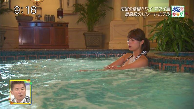 【水着キャプ画像】今年の夏も待ち遠しい!テレビでエロい水着紹介されてる水着美女達w 08