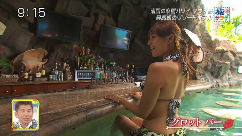 【水着キャプ画像】今年の夏も待ち遠しい!テレビでエロい水着紹介されてる水着美女達w 11