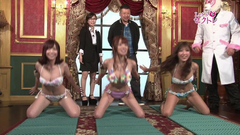 【お宝エロ画像】下着姿の美女達が「セクトレ」とか言ってエロい動きさせられてたw