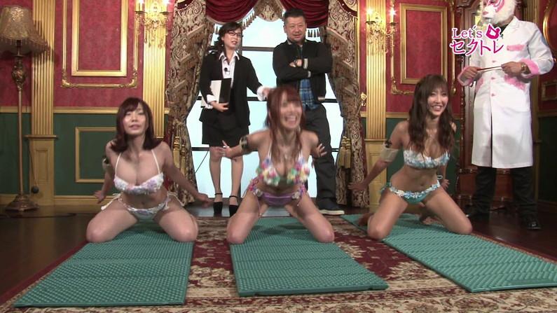 【お宝エロ画像】下着姿の美女達が「セクトレ」とか言ってエロい動きさせられてたw 03