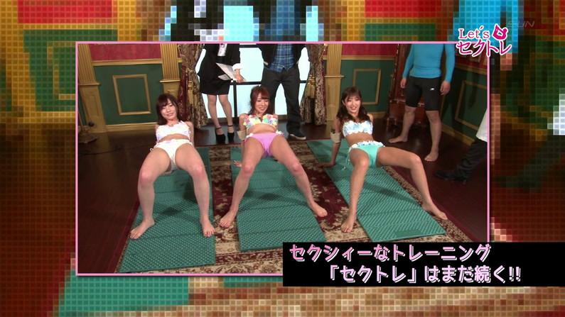 【お宝エロ画像】下着姿の美女達が「セクトレ」とか言ってエロい動きさせられてたw 08