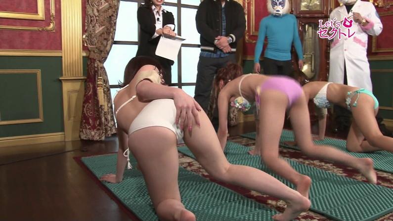【お宝エロ画像】下着姿の美女達が「セクトレ」とか言ってエロい動きさせられてたw 40