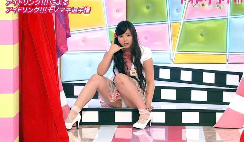 【パンチラキャプ画像】テレビでスカートの奥の方まで映っちゃってるぞww 06