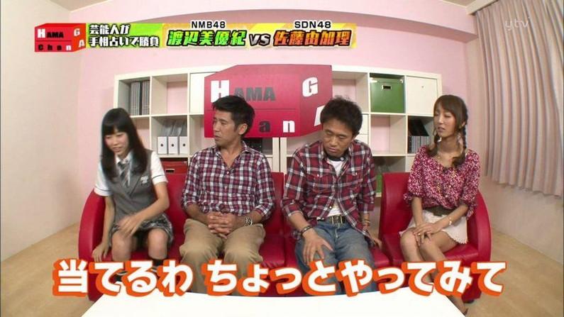 【パンチラキャプ画像】テレビでスカートの奥の方まで映っちゃってるぞww 18