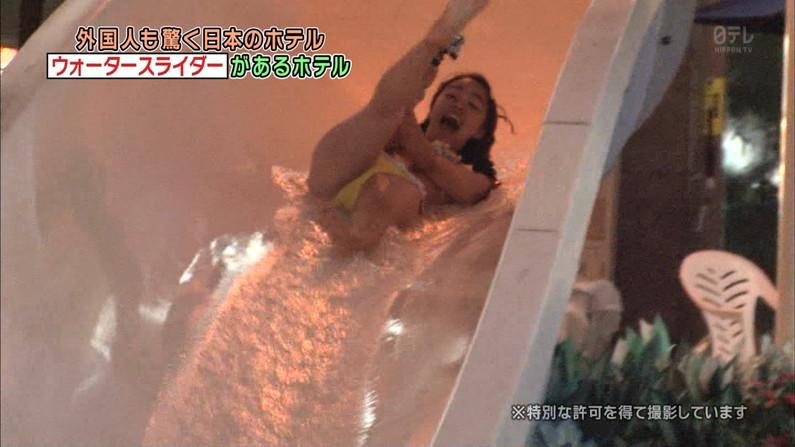 【おマンコキャプ画像】タレントがおマ〇コ見せる勢いで思いっきりお股広げてるww 09