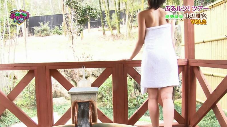 【温泉キャプ画像】合法的に女湯覗けるなんかテレビの温泉レポの時くらいしかないよなw 13