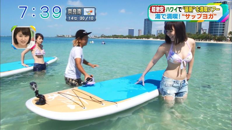 【水着キャプ画像】ナイスボディーのセクシータレントの水着姿がテレビで映りまくりw 06