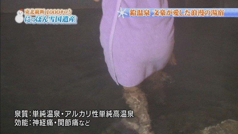 【温泉キャプ画像】温泉レポする女性タレントの姿ってやっぱエロいよなw 14