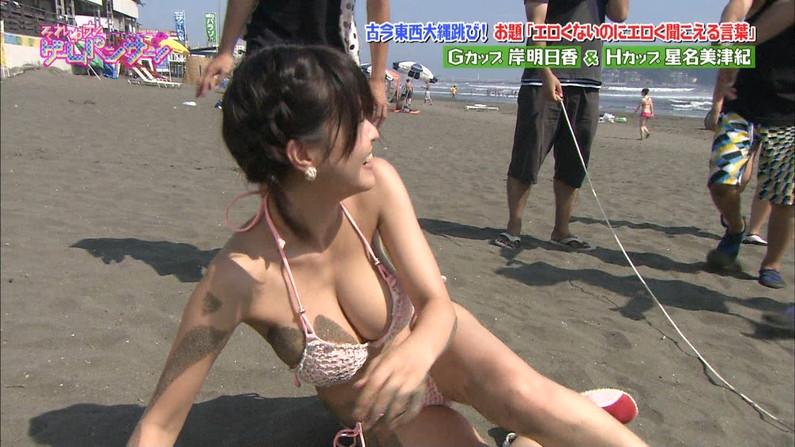 【水着キャプ画像】美人タレント達の水着姿ってやっぱり一般人とは少し違うよなw 21