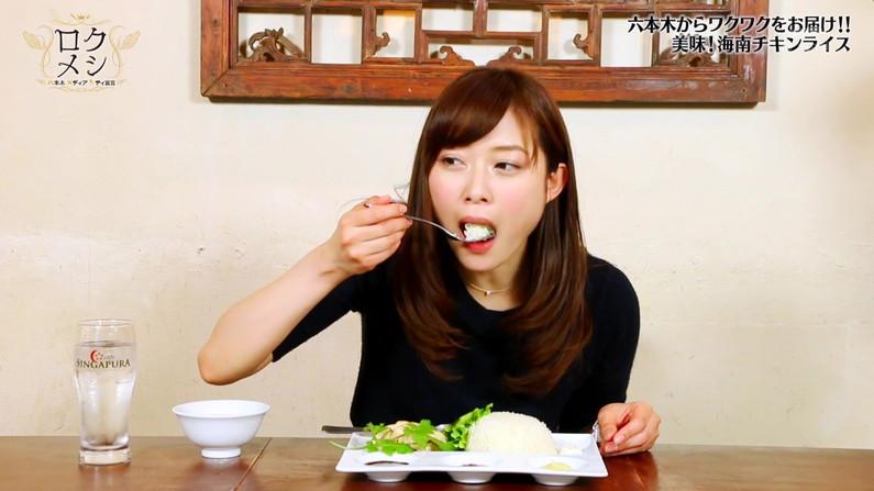 【疑似フェラキャプ画像】食レポの時になるとフェラしてる時の顔そっくりになっちゃうタレント達w 04