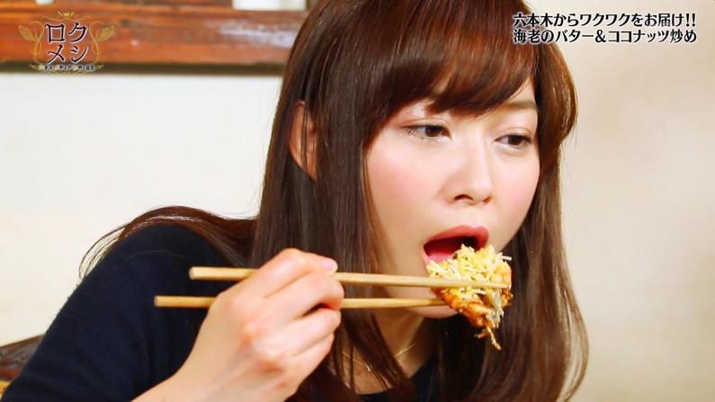 【疑似フェラキャプ画像】食レポの時になるとフェラしてる時の顔そっくりになっちゃうタレント達w 06