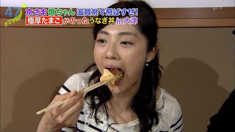【疑似フェラキャプ画像】食レポの時になるとフェラしてる時の顔そっくりになっちゃうタレント達w 12