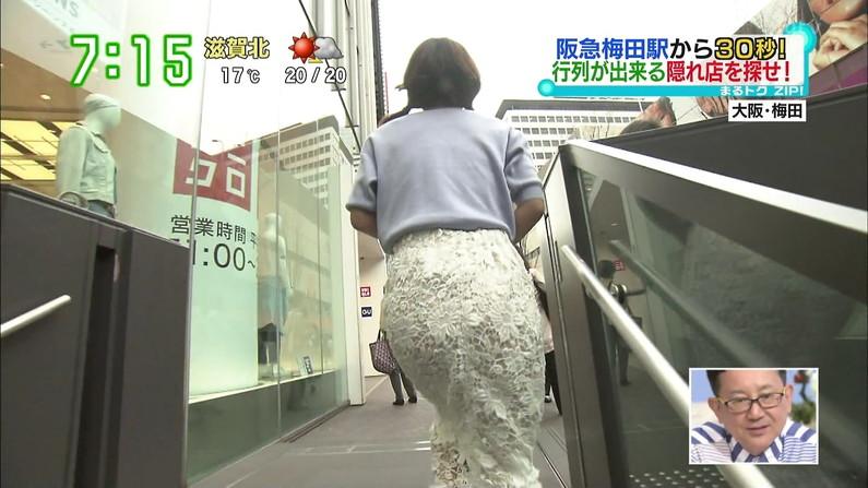 【お尻キャプ画像】ピッチリズボンがお尻に食い込みまくてtパンツラインまで見えちゃう女子アナ達w 11