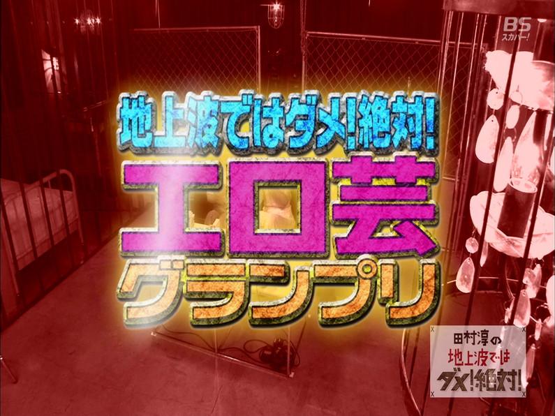 【お宝エロ画像】田村淳の地上波ではダメ!絶対でまたまたエロ芸グランプリ開催してたぞw