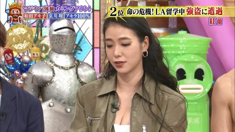 【胸ちらキャプ画像】これからどんどんテレビで胸ちたらするタレントが増えてくるんだろうなぁww 13