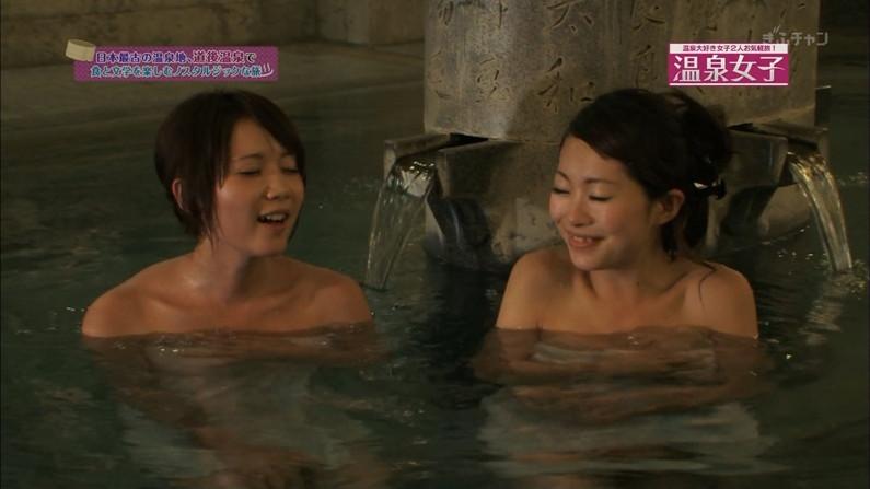 【温泉キャプ画像】美人タレントの入浴シーンなんてエロい目で見ないやついるの?ww 15