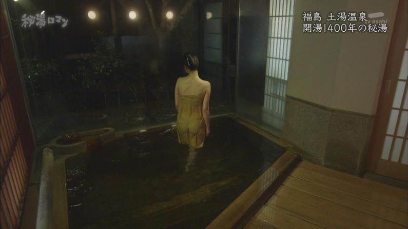 【温泉キャプ画像】美人タレントの入浴シーンなんてエロい目で見ないやついるの?ww 17
