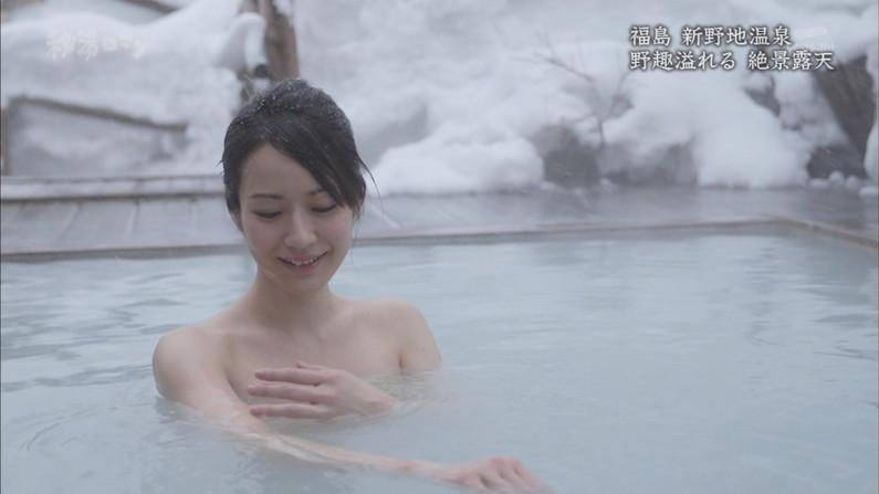 【温泉キャプ画像】美人タレントの入浴シーンなんてエロい目で見ないやついるの?ww 18