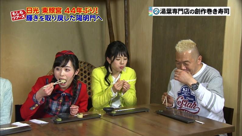 【疑似フェラキャプ画像】こんなエロい顔して食レポするからフェラが好きそうな女子アナとか言われるんだよw 23