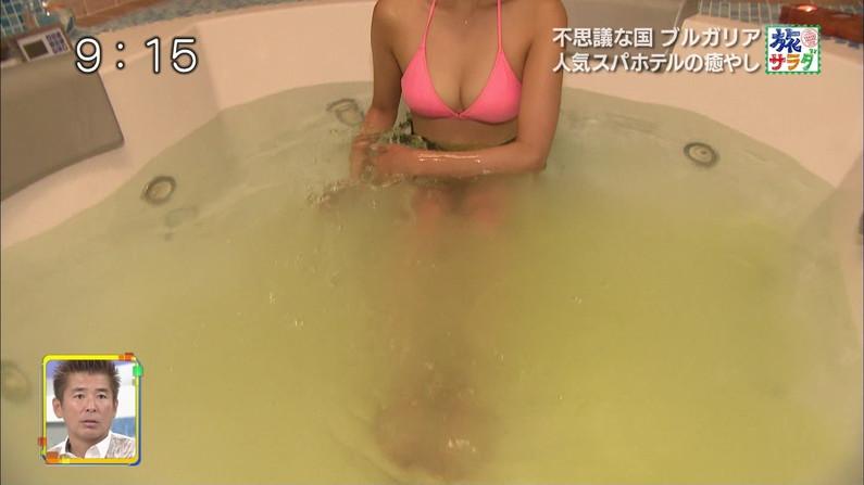 【水着キャプ画像】巨乳溢れるビキニ美女のキャプ画像集めたったww 05