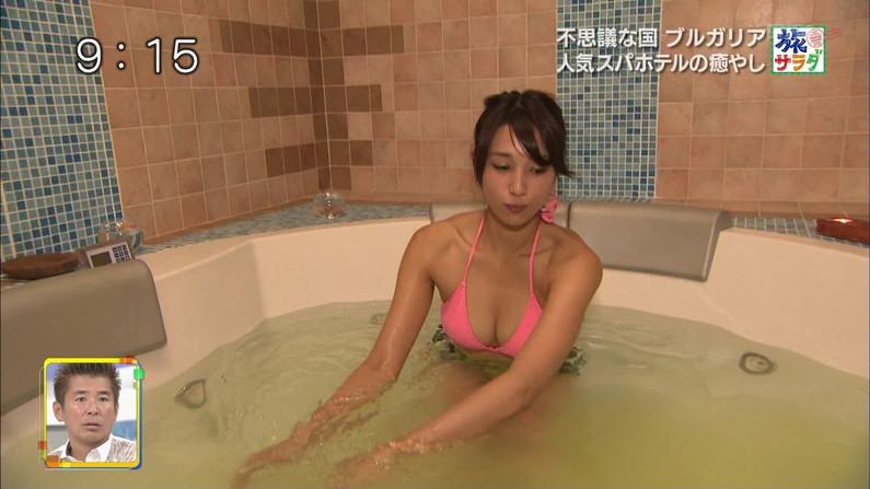 【水着キャプ画像】巨乳溢れるビキニ美女のキャプ画像集めたったww 06