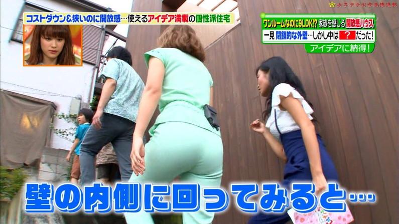 【お尻キャプ画像】パンツラインまで見えちゃってるタレントさん多くない?w 03
