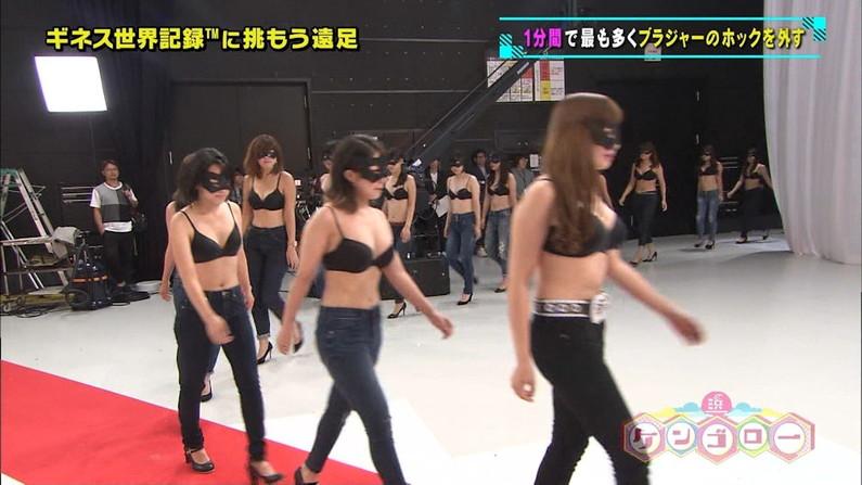 【下着キャプ画像】おいおい!テレビなのに美女達が下着姿で出てきてるぞww 18