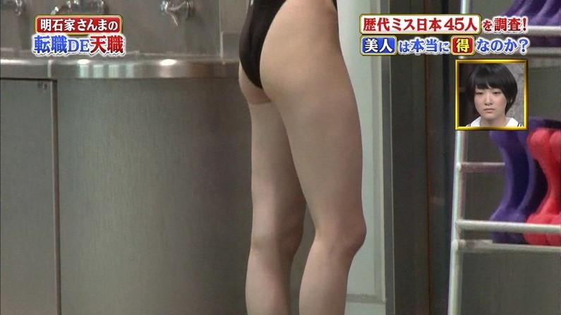 【お尻キャプ画像】美尻タレント達の水着や下着からはみ出す尻肉www 23