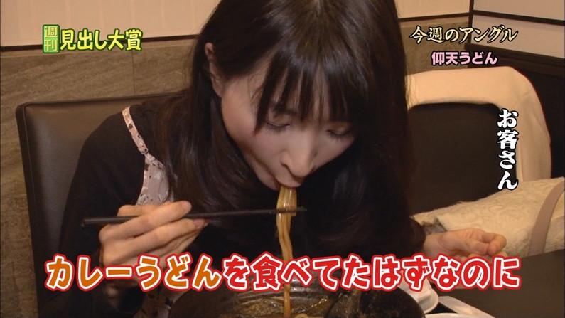 【疑似フェラキャプ画像】食レポすると必ずと言っていいほどスケベな顔になるタレント達w 07