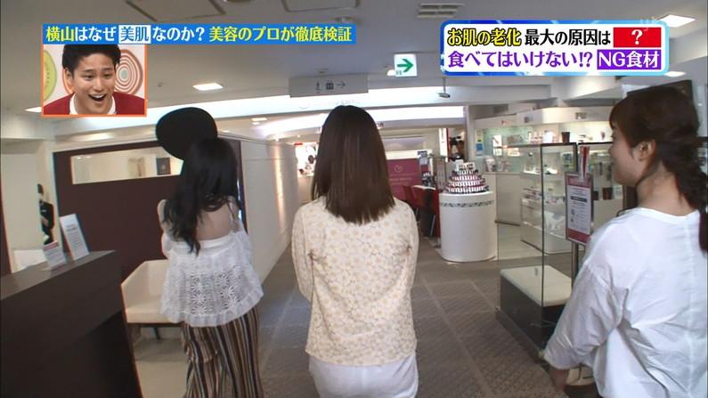 【お尻キャプ画像】テレビでパンツラインまで丸見えになっちゃってるタレント達w 06