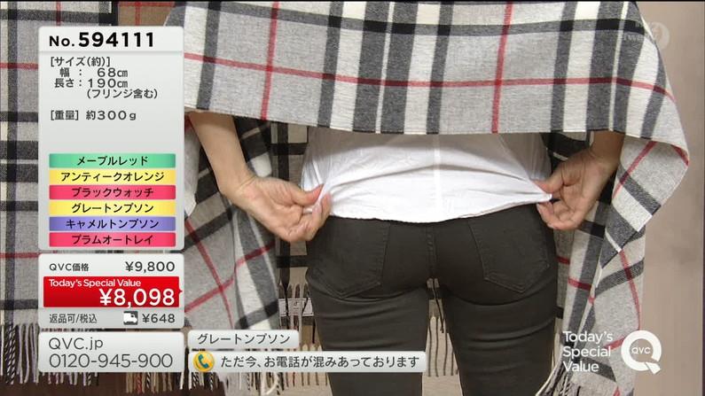 【お尻キャプ画像】テレビでパンツラインまで丸見えになっちゃってるタレント達w 16