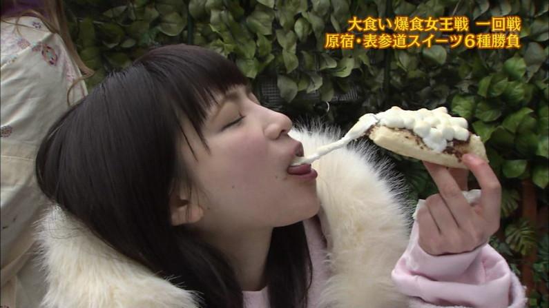 【疑似フェラキャプ画像】フェラしてる所が安易に想像できちゃう女子アナ達のエロい食レポw 11