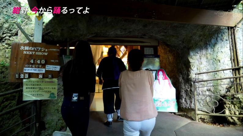 【お尻キャプ画像】女子アナ達のお尻の割れ目に食い込むピタパンがやらしすぎるw 09