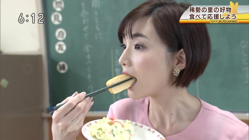 【疑似フェラキャプ画像】食レポでこんなエロい顔して視聴者の気を引こうとてるタレント達w 09