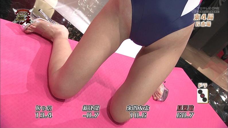 【太ももキャプ画像】ミニスカやショートパンツ履いて太もも露出し過ぎた結果ww 08