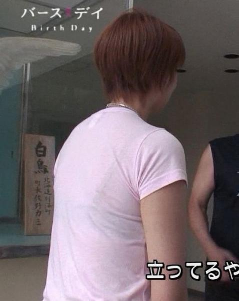 【透けブラキャプ画像】タレントさん達の薄手シャツからブラジャー透けまくってるんだけどw 08