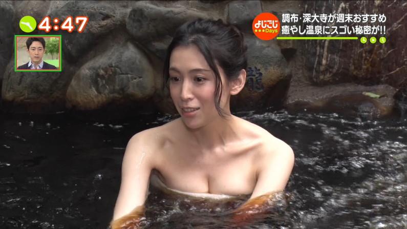 【温泉キャプ画像】いつも際どい所までは見せてくれるんだけど、やっぱりそれ以上を期待する温泉レポw