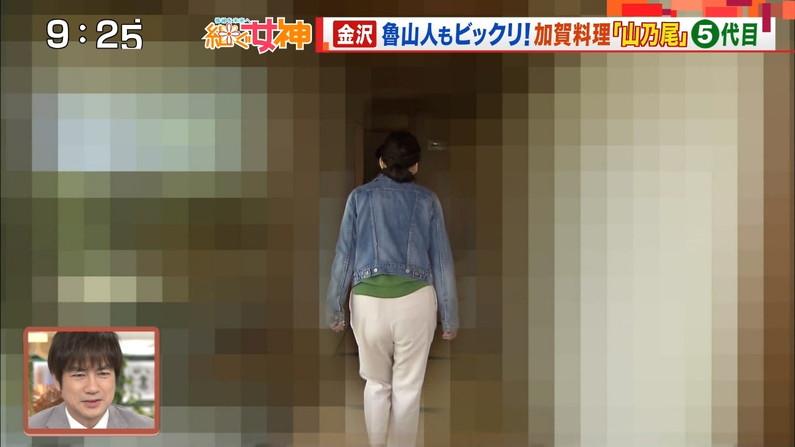 【お尻キャプ画像】デッカイお尻にズボンが食い込んでお尻の割れ目くっきりなってるタレント達w 06