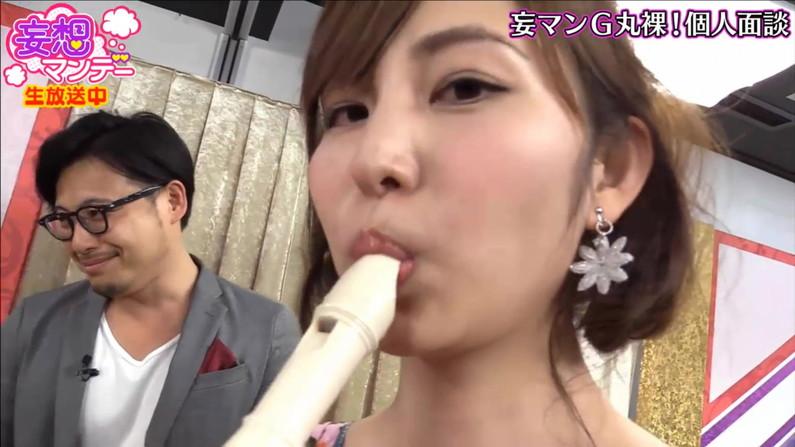 【疑似フェラキャプ画像】エロ顔満開で食レポする淫乱そうなタレント達ww