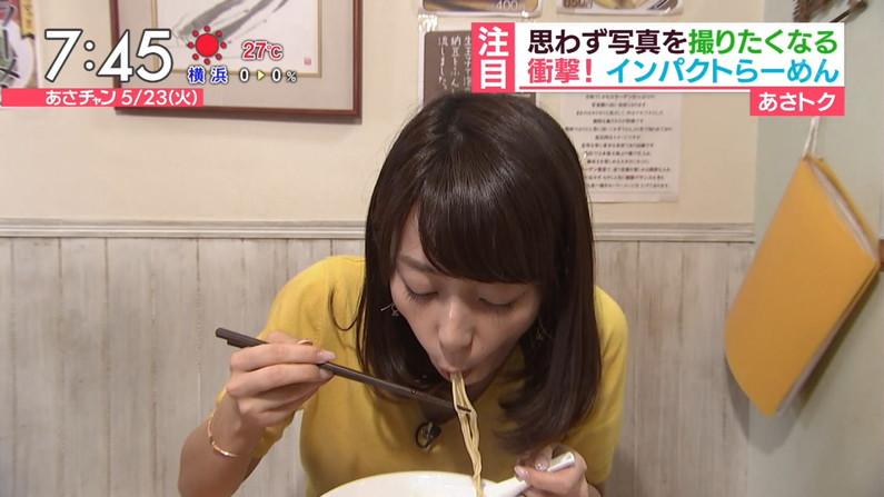 【疑似フェラキャプ画像】エロ顔満開で食レポする淫乱そうなタレント達ww 07