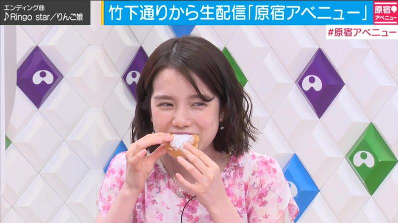 【疑似フェラキャプ画像】エロ顔満開で食レポする淫乱そうなタレント達ww 09