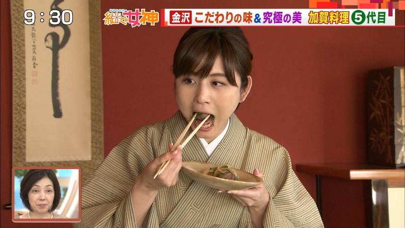 【疑似フェラキャプ画像】エロ顔満開で食レポする淫乱そうなタレント達ww 10